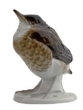 Meissen Porcelain Bird Figurine - Thrush